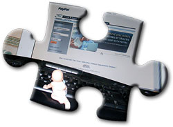 Baby on with PayPal screen